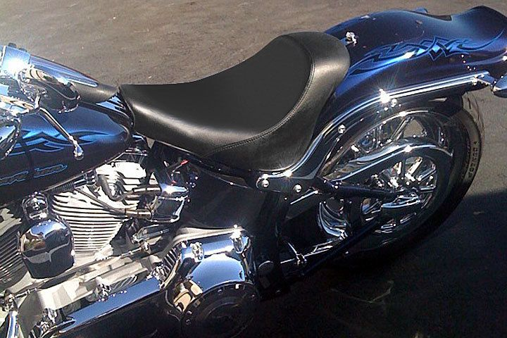 Harley Davidson Softail Solo Seat by Danny Gray